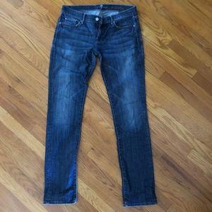 7 For All Man Kind Straight-Legged Jean